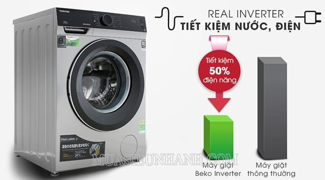 Model máy giặt cửa trước 9kg của Toshiba