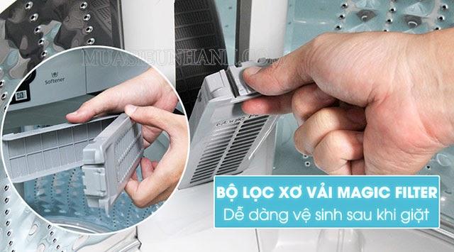 Bộ lọc xơ vải Magic Filter rút ngắn thời gian vệ sinh