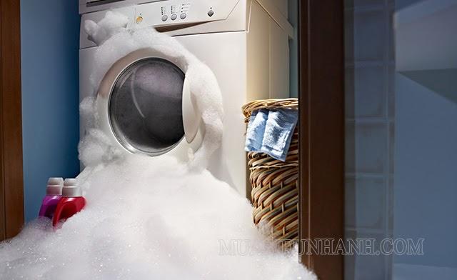 Một số lỗi thường gặp ở máy giặt cửa trước