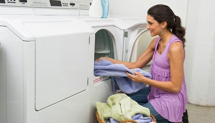 cách sử dụng máy sấy quần áo samsung