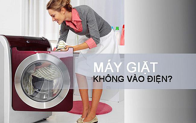 Máy giặt Samsung không vào điện