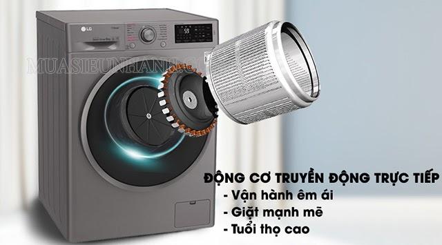 Máy giặt LG có động cơ cao cấp
