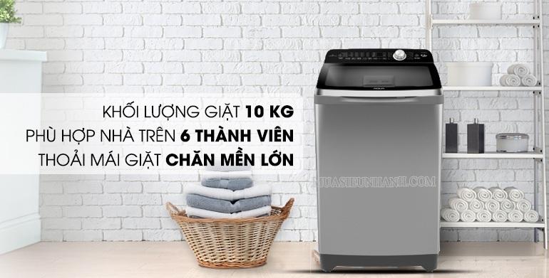máy giặt 10kg inverter AQUA AQW FR100et