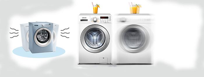 máy giặt samsung bị rung lắc mạnh khi vắt