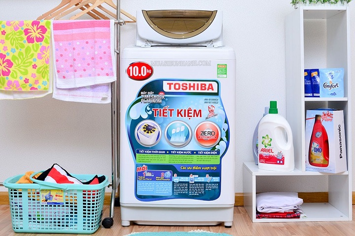 máy giặt toshiba AW B1100GV