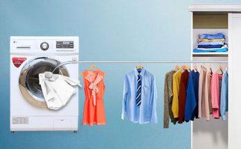 phân loại quần áo trước khi cho vào máy sấy