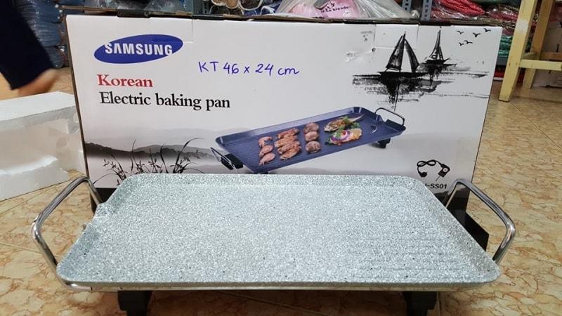 bếp nướng điện samsung dh-ss01 vân đá