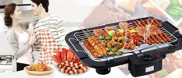 có nên mua bếp nướng điện không khói