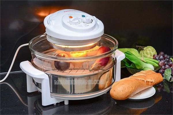 Lò nướng điện thủy tinh