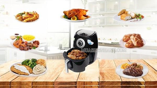 Magic A84 chế biến được nhiều món ăn