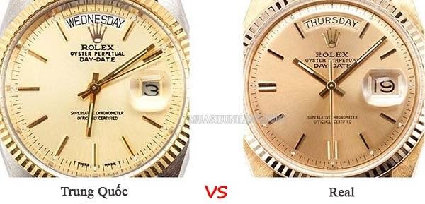 Có nên mua đồng hồ Rolex Trung Quốc không?