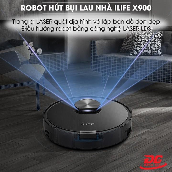 ILife X900 trang bị công nghệ LASER hiện đại