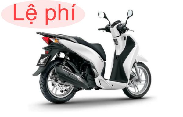 thuế trước bạ xe máy