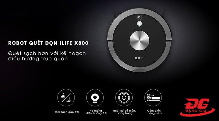 Ilife X800 được tích hợp nhiều tính năng hiện đại