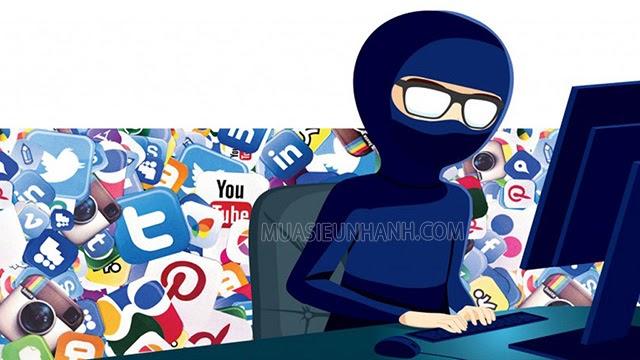 lừa đảo qua mạng xã hội, internet
