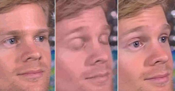 meme blinking white guy