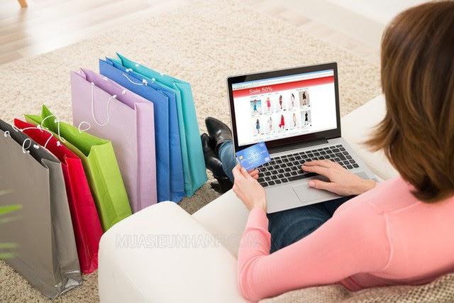 Bạn có thể mua sắm ngay tại nhà mà không cần phải đến tận cửa hàng