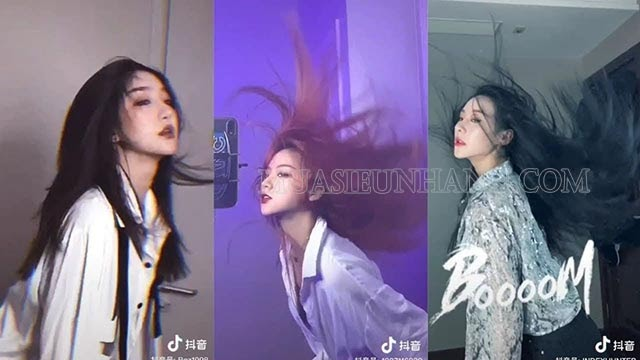 Trend hất tóc biến hình