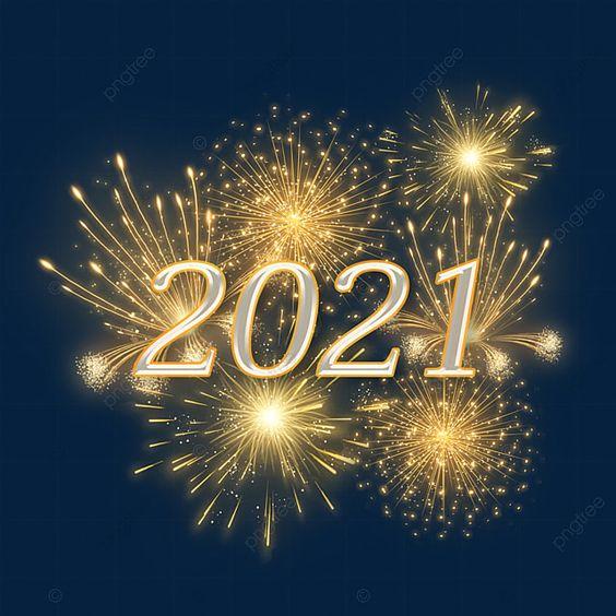 Hình chúc mừng năm mới cùng với pháo hoa là những thứ không thể nào thiếu trong dịp Tết.