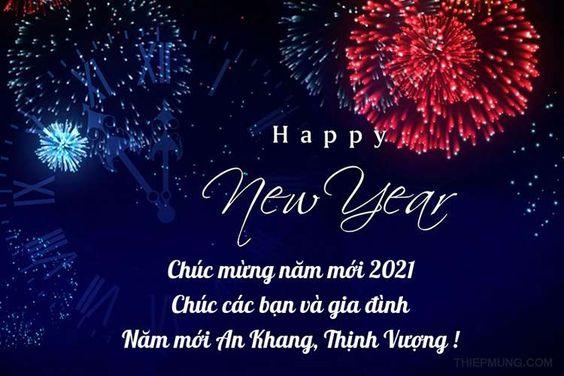 ảnh chức mừng năm mới 2021