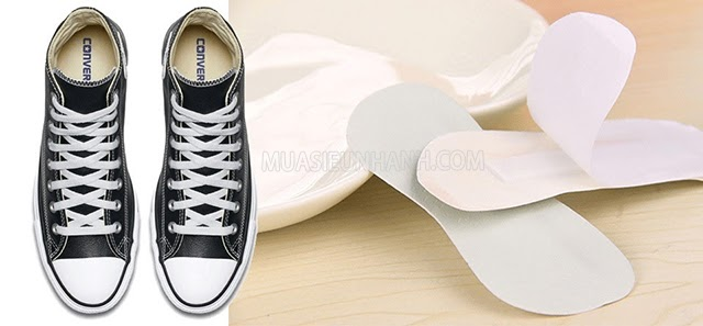 giày vans bị rộng