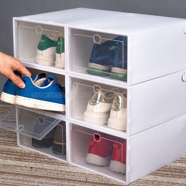 Các khay đựng giày riêng biệt sẽ bảo quản giày tốt hơn