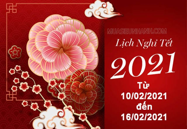 lịch nghỉ tết 2021 ngân hàng agribank