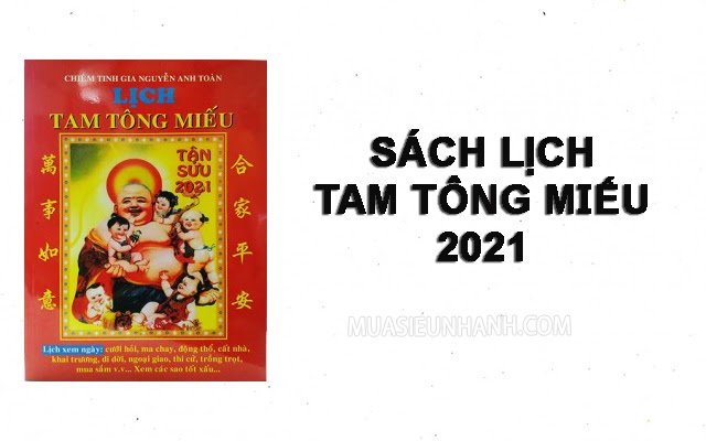 lịch tam tông miếu 2021