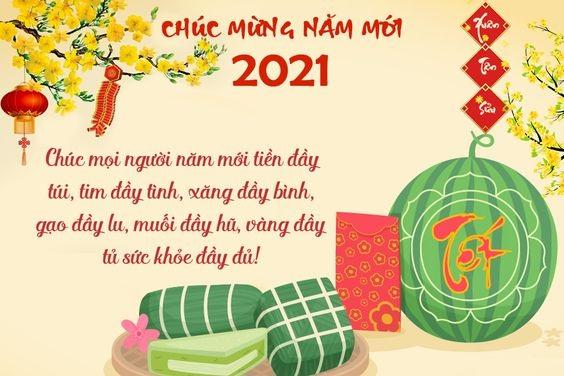 Lời chúc năm mới 2021 hay nhất