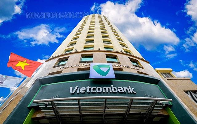 Hội sở của Vietcombank tại 198 Trần Quang Khải Hoàn Kiếm, Hà Nội