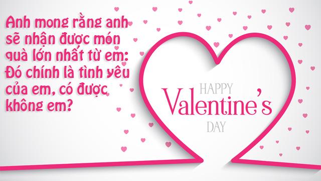 ảnh lời chúc valentine lãng mạn