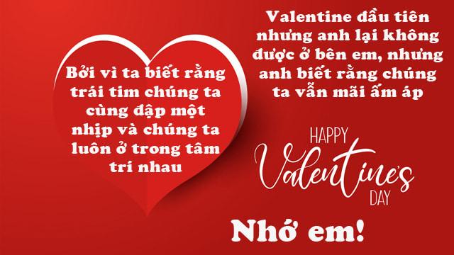 lời chúc valentine cho bạn gái