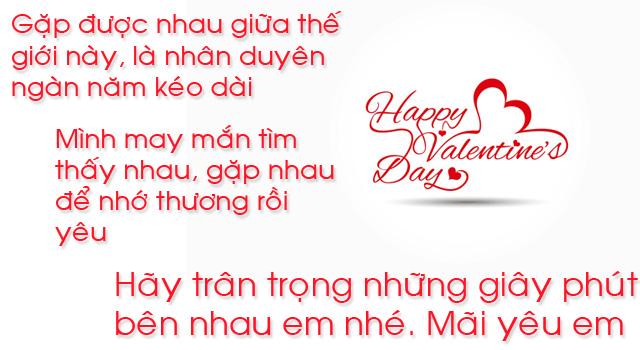 lời chúc valentine lãng mạn