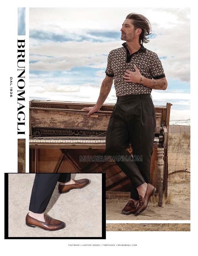 Giày Bruno Magli toát lên phong thái lịch lãm và tinh tế cho người mang