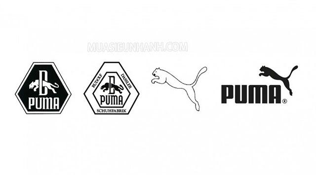 Logo Puma thay đổi qua các thời kỳ