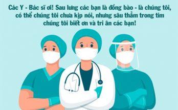 lời chúc mừng thầy thuốc