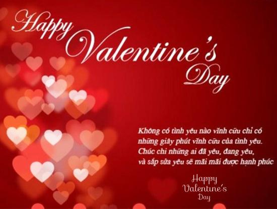 Lời chúc cho ngày Valentine