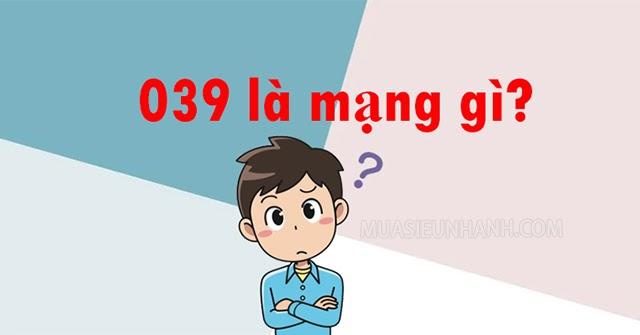 039 là mạng gì