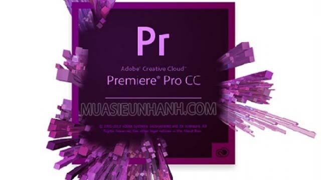 Phần mềm Adobe Premiere Pro