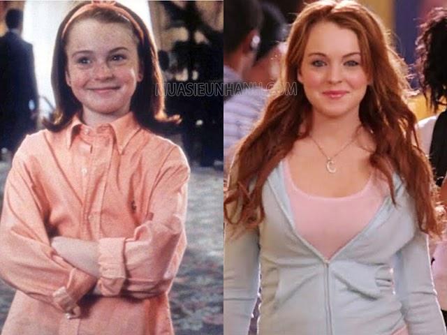 """Từ một cô nàng dễ thương Lindsay Lohan trở thành """"gái hư"""" của Hollywood"""