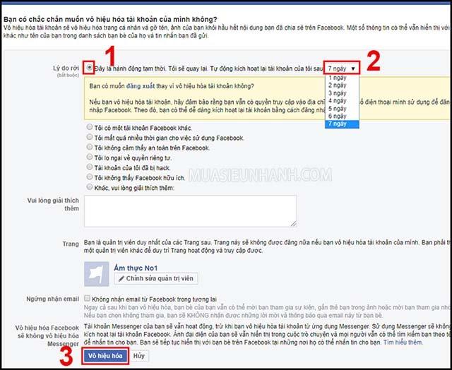 cách xóa tài khoản fb khi bị hack