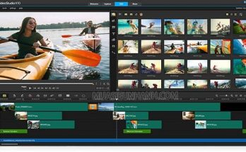 phần mềm edit video corel video studio