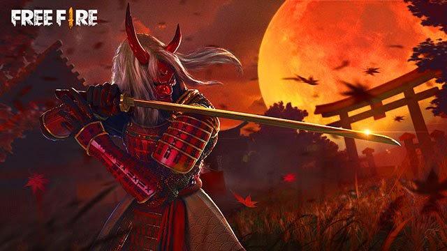 Hình ảnh Free Fire quỷ kiếm dạ xoa