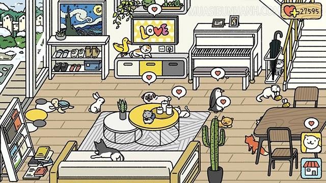 hướng dẫn chơi adorable home