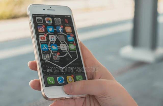Sử dụng iPhone Bypass thì bạn vẫn vào được một số tính năng nhất định