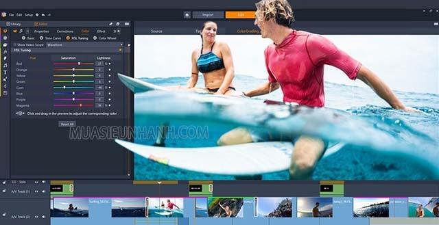 Video trở nên sống động, hấp dẫn hơn sau khi sử phần mềm Pinnacle Studio