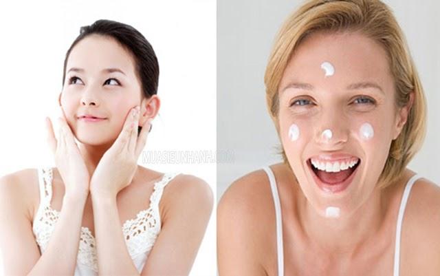 Sau khi lớp toner đã thẩm thấu vào da bạn mới bôi serum dưỡng ẩm lên