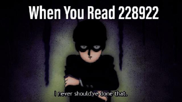 228922 là bộ truyện có nhiều tình tiết ghê rợn, bạo lực