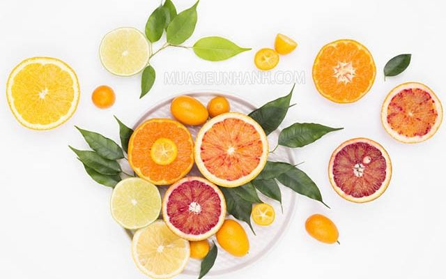 Cam, quýt cung cấp vitamin C dồi dào
