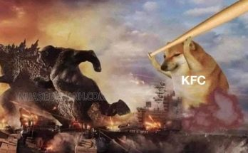 Trong bức ảnh quảng cáo của KFC tại Tây Ban Nha